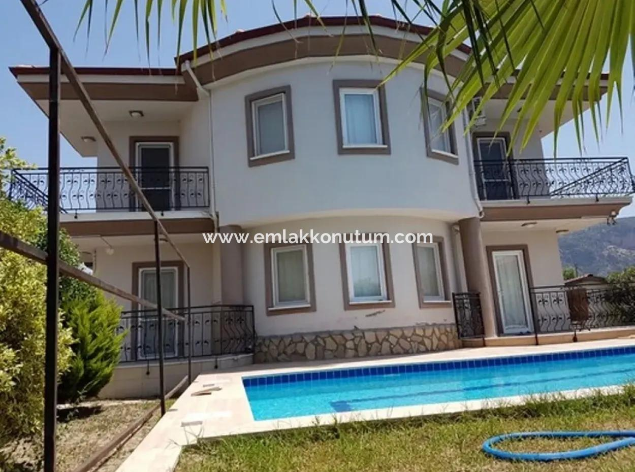 Detached Villa With Swimming Pool For Sale In Dalyan