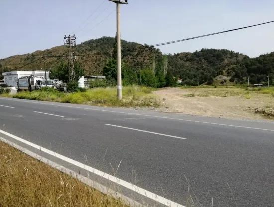 Oriya Also Yerbele Fethiye - Mugla Plot For Sale With Road Frontage 2000 M2 To