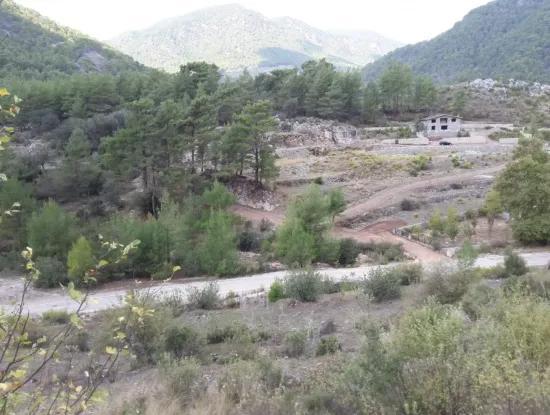 Fethiye Kızılbel De Satılık 937 M2 İmarlı Arsa