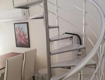 Dalyanda Eşyalı Kiralık Çatı Dubleks
