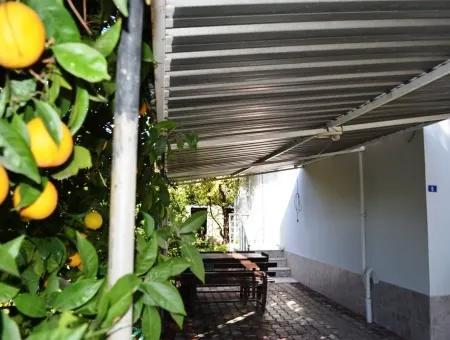 Ortaca Da Kiralık Eşyalı Bahçeli Daire